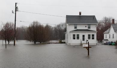 2010 flooding in Rhode Island.