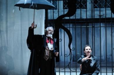 Brian McEleneny (Poe) Fred Sullivan Jr. (Dickens)
