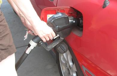 Drivers are being asked to either refrain from filling up or driving their cars.