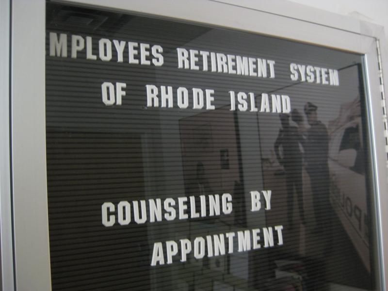 """RI Pensions: \""""Failure is not an option. This problem has festered for too long and the day of reckoning is long past.\"""""""