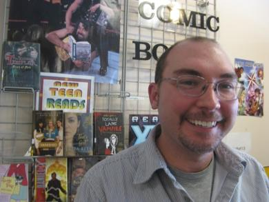 Young Adults Librarian Aaron Coutu
