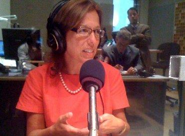 Senate President Teresa Paiva Weed on WRNI's Political Roundtable.