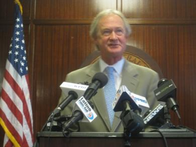 Governor Lincoln Chafee has faced a variety of challenges since taking office in January.