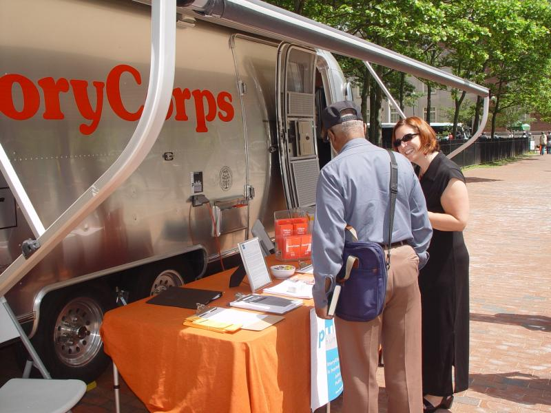 Rhode Island Storycorps interviewed Anne Grant and H. Philip West, Jr.