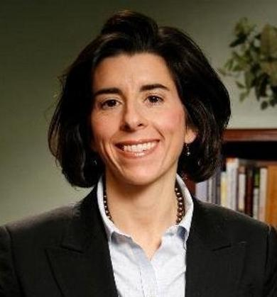 General Treasurer Gina Raimondo.