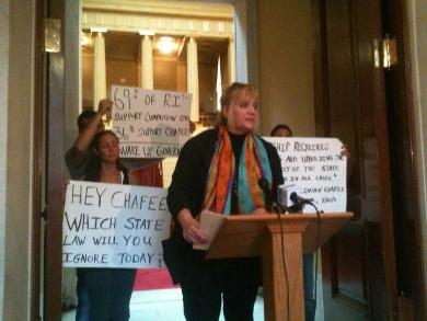 JoAnne Leppanen with the Rhode Island Patient Advocacy Coalition