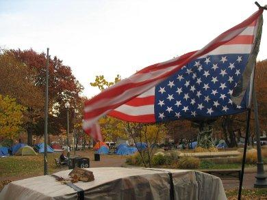 Occupy Providence plans to move out of the park, but only for a short time.