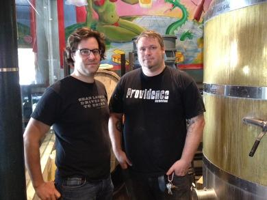 Owen Johnson and Sean Larkin of Revival Brewing