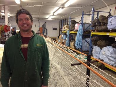 Jon Knight, founder of Superior Trawl in Point Judith.