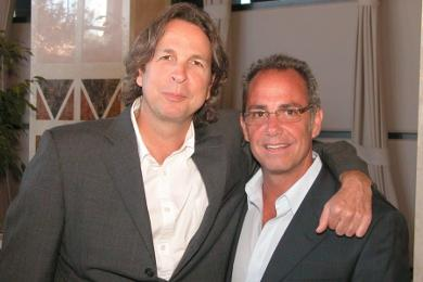 PETER FARRELLY AND MICHAEL CORRENTE AT RIIFF 2006
