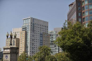 Providence city condo skyline