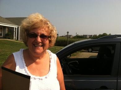 Block Island resident Rosemarie Ives
