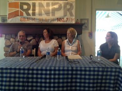 The panel at our Block Island forum