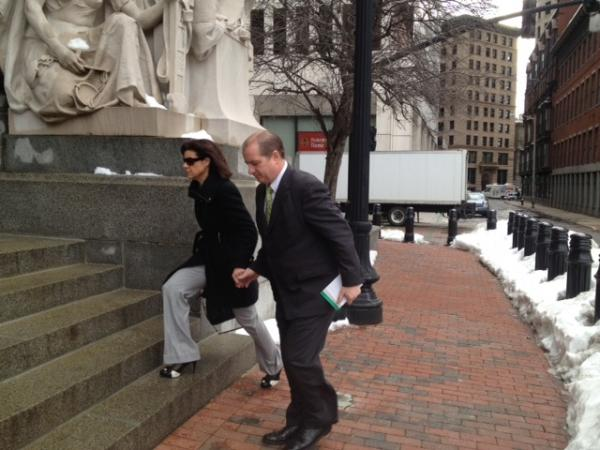 Former Central Falls Mayor Charles Moreau on his way to getting sentenced to two years in prison