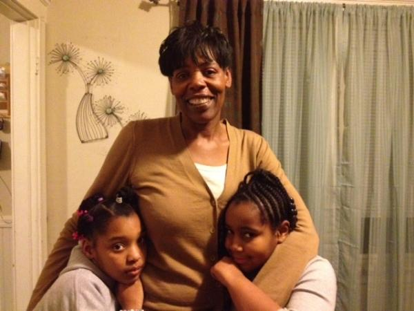 Jacquelin Dowdy and her daughters Genesis and Ny-Asiah live on the 2nd floor of the family's triple-decker.