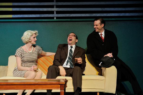 "Jennifer Byrne, Robert Ierardi and Joel Kipper in the New England premiere of ""Lombardi."""