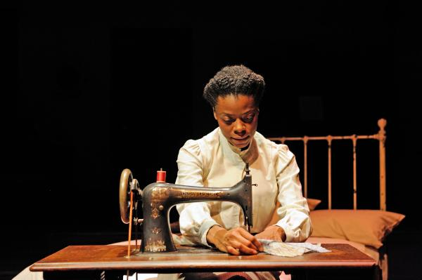 Mia Ellis as Esther in Intimate Apparel, by Pulitzer Prize-winner Lynn Nottage.