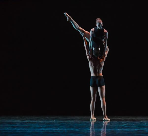 Ruth Whitney and Alan Alberto dance in Festival Ballet's Up Close on Hope.