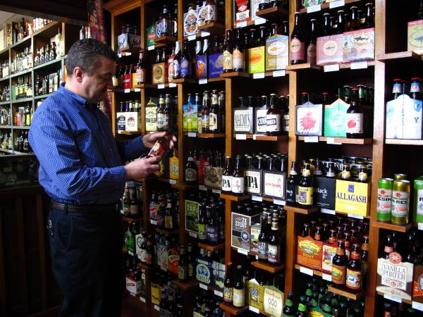 Saccoccia owns and operates the liquor store opened by his father and uncle 65 years ago. He said most retail liquor stores in Rhode Island are small and family-owned.