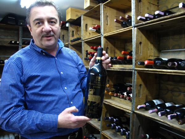 Saccoccia says the liquor industry is a very expensive business venture. His costs include annual inventory tax of wines in stock at his wine cellar.
