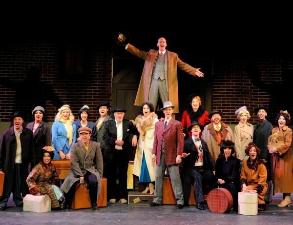 The cast of 42nd Street, playing at Ocean State Theatre through May 18th.