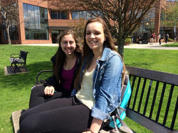Bryant University student Sierra Moore expects to spend more than a decade paying off her student loans.