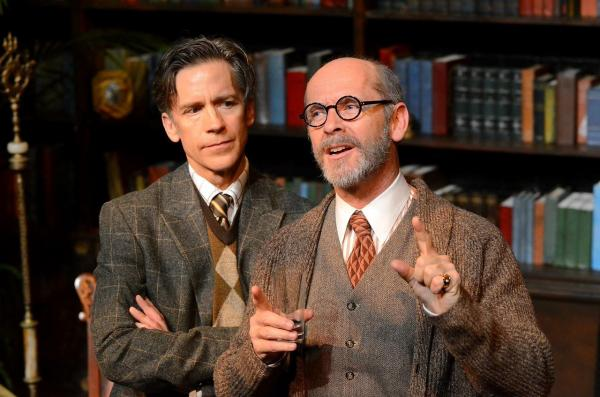 Ed Shea is Sigmund Freud in Freud's Last Session by Mark St. Germain.