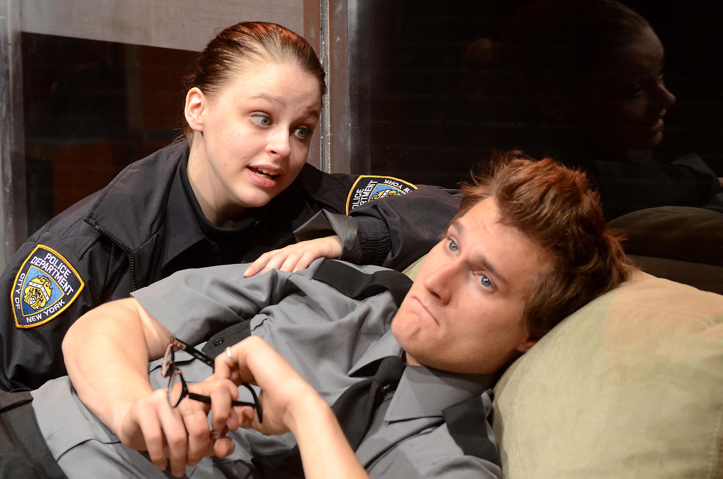 2nd story theatre s lobby hero is a tough snappy play for Second story theater