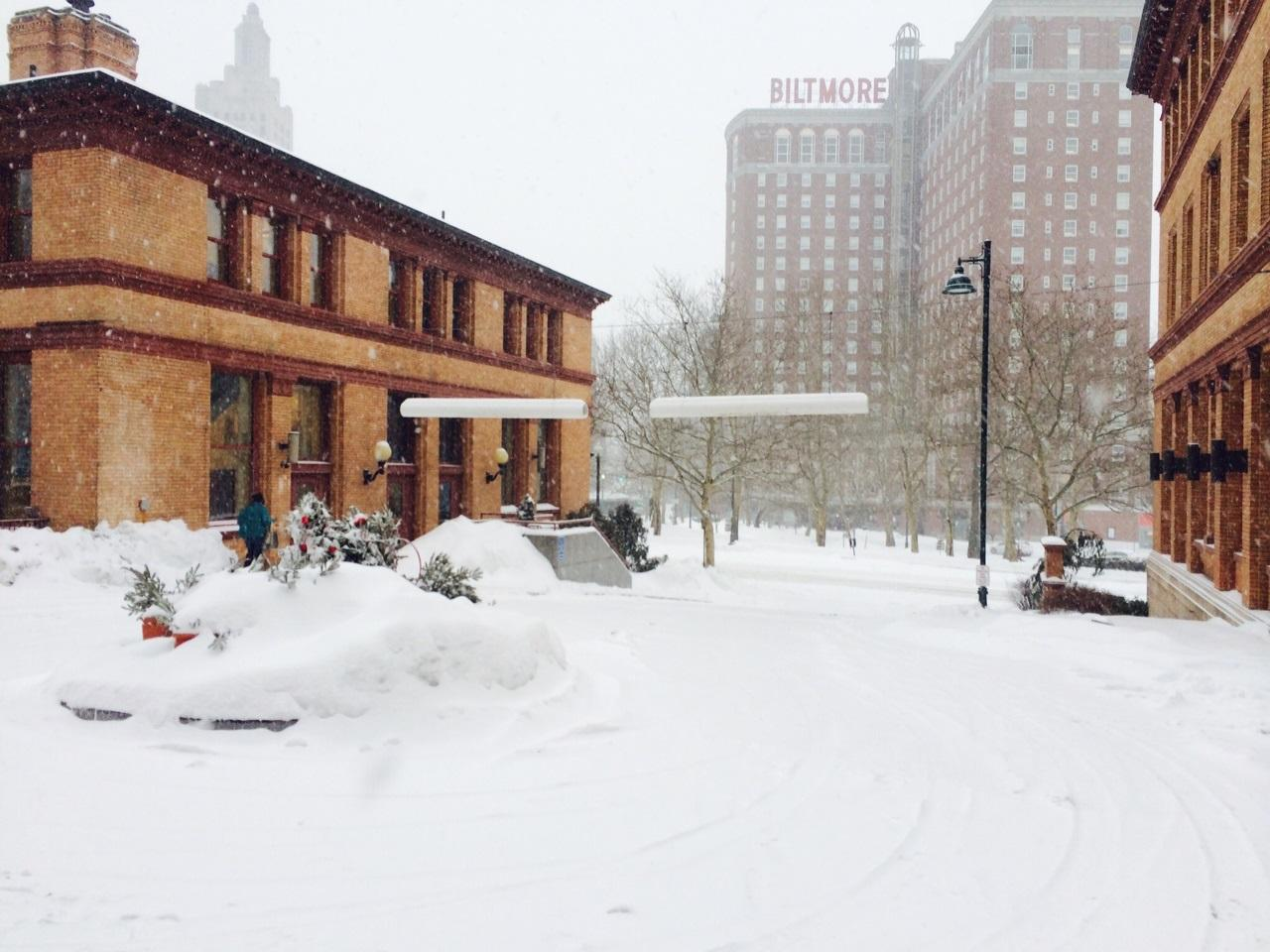 Snow Storm In Rhode Island