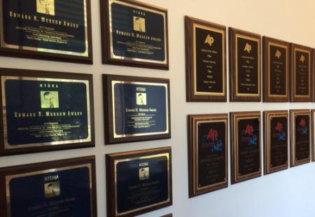 RIPR Awards Hallway