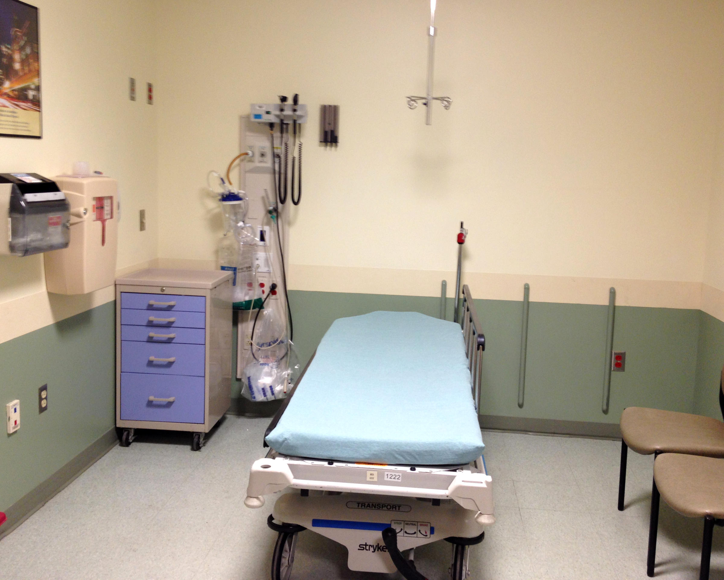 Providence Hospital Bed