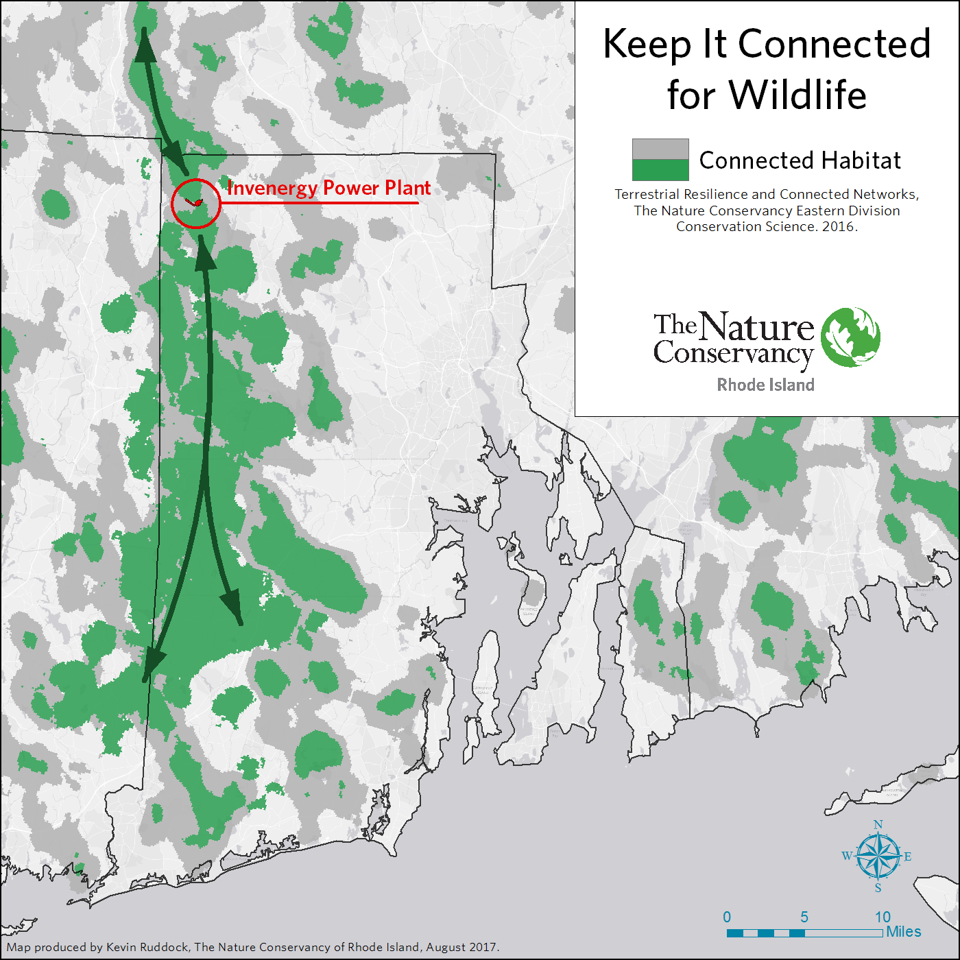 Land Conservationists Worry Power Plant Will Fragment Forest Harm