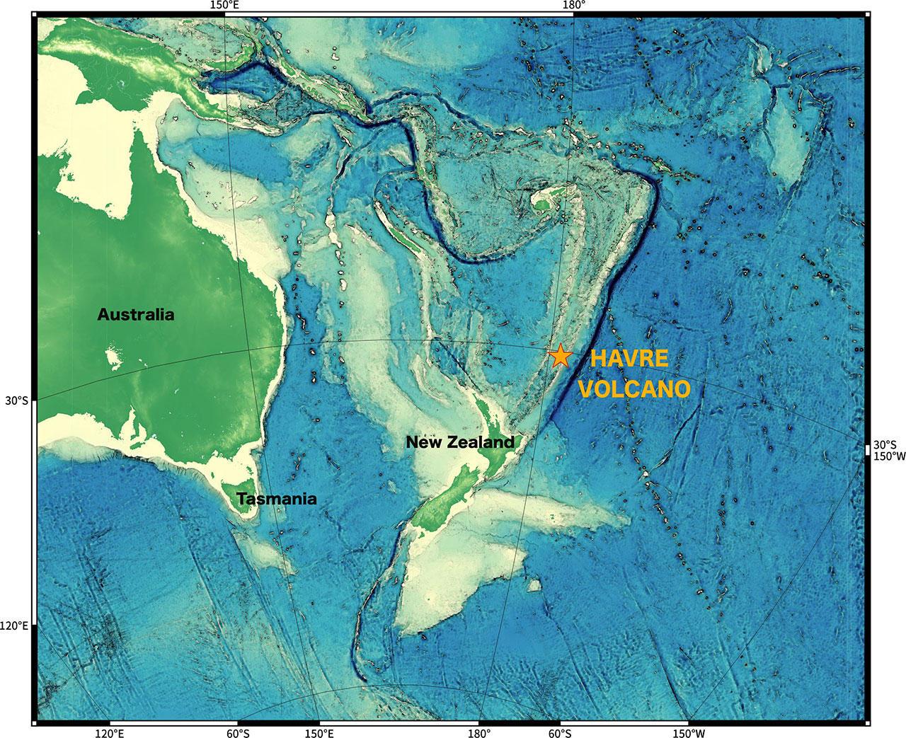 Woods Hole Scientists Make Big DeepOcean Discovery Rhode Island - Oceanographic map
