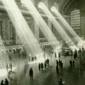 Grand Central Terminal, New York City, at its founding, 1913.