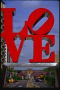 <i>LOVE</i>, Robert Indiana, sculpture, 1976