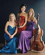 The Eroica Trio will perform on October 24 at Puck, a small club in Doylestown