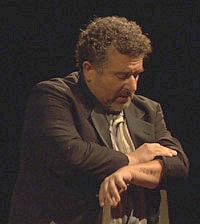 Saul Rubinek as Carl Stern in Marc Neikrug's <em>Through Roses.</em>