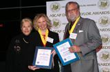 ASCAP President Marilyn Bergman with Maureen Malloy and Dave Conant