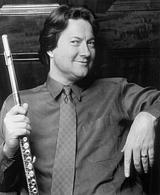 Flutist Robert Stallman
