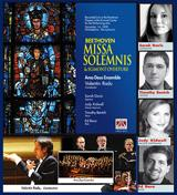 Under the baton of Valentin Radu, the Ama Deus Ensemble has just released a new CD: Beethoven's Missa Solemnis & Egmont Overture