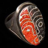 Ceremonial Lenape Meesing ring from Penn Museum's <i>Fulfilling a Prophecy</i> exhibition