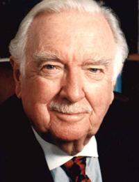 The late Walter Cronkite spoke with WRTI's Windsor Johnston in 2006.
