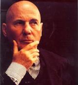 Contemporary German composer Hans Werner Henze