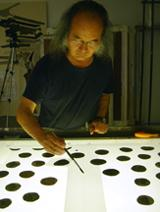 Jun Kaneko designs the fabrics for costumes worn in Opera Company of Philadelphia's production of <i>Madama Butterfly</i>.