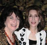 Jill Pasternak with Mario Lanza's daughter, Ellisa Lanza-Bregman