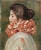 Girl in a Red Ruff, 1896<br>