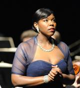 Soprano Michelle B. Johnson sings the title role in AVA's <i>Suor Angelica</i>