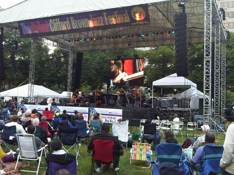 WRTI at the 2012 Dupont Clifford Brown Jazz Festival earlier this week