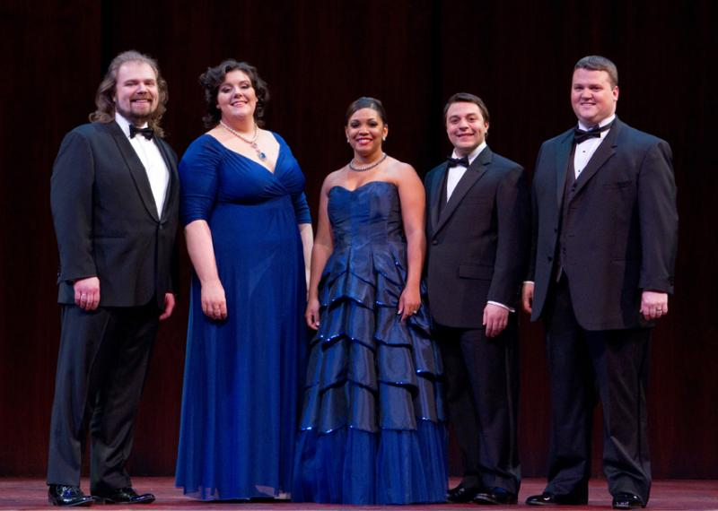 The 2012 winners of the Met Opera National Council Auditions
