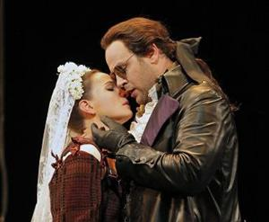 Lucas Meachem sings the title role, and Kate Lindsey portrays Zerlina, in San Francisco Opera's Don Giovanni.